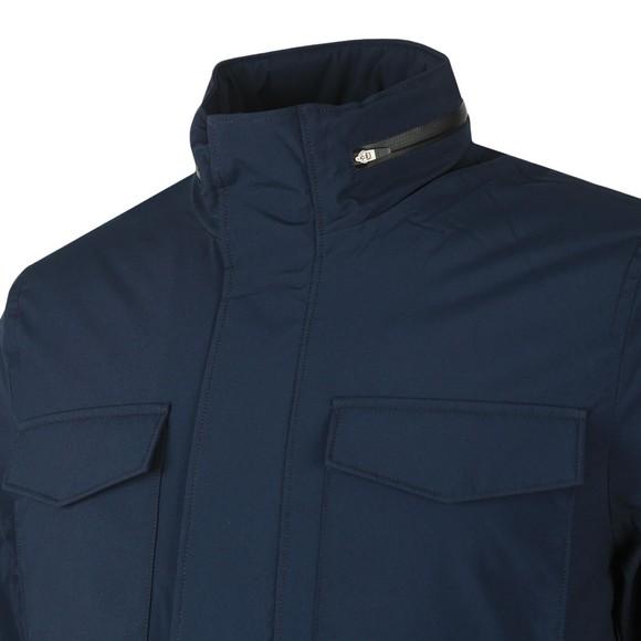 J.Lindeberg Mens Blue Tracer Tech Winter Jacket