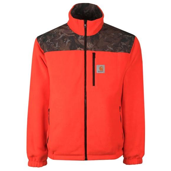 Carhartt WIP Mens Green Denby Reversible Jacket
