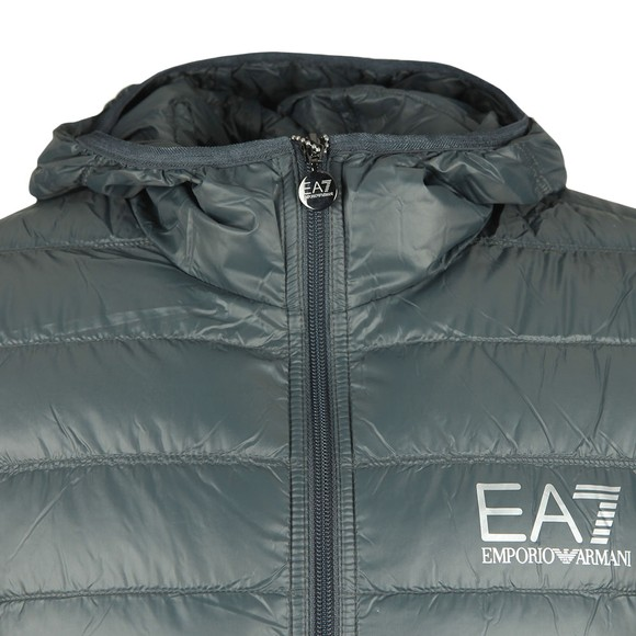 EA7 Emporio Armani Mens Grey Down Jacket