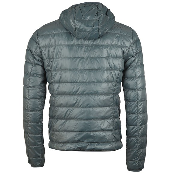 EA7 Emporio Armani Mens Grey Down Jacket main image