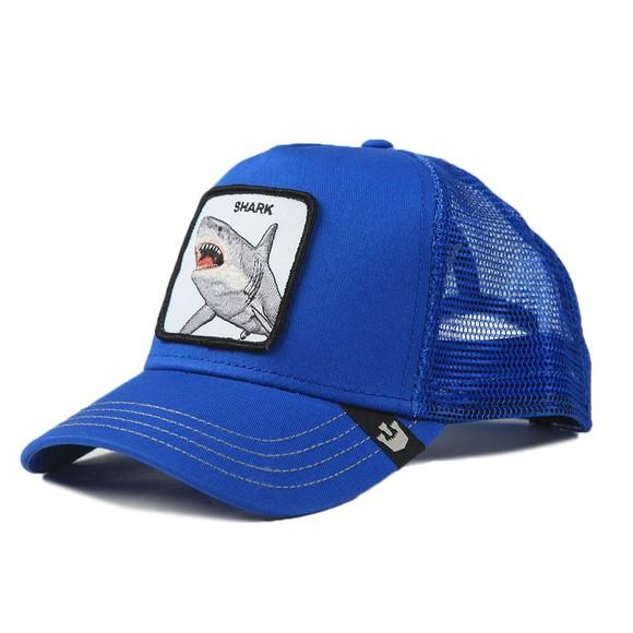 Goorin Bros. Mens Blue Chomp Chomp Trucker Cap