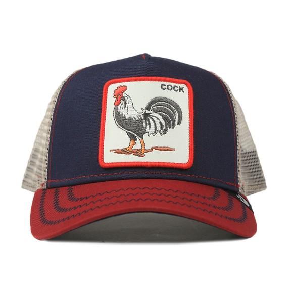 Goorin Bros. Mens Blue All American Rooster Trucker Cap