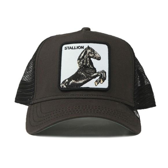 Goorin Bros. Mens Black Stallion Trucker Cap