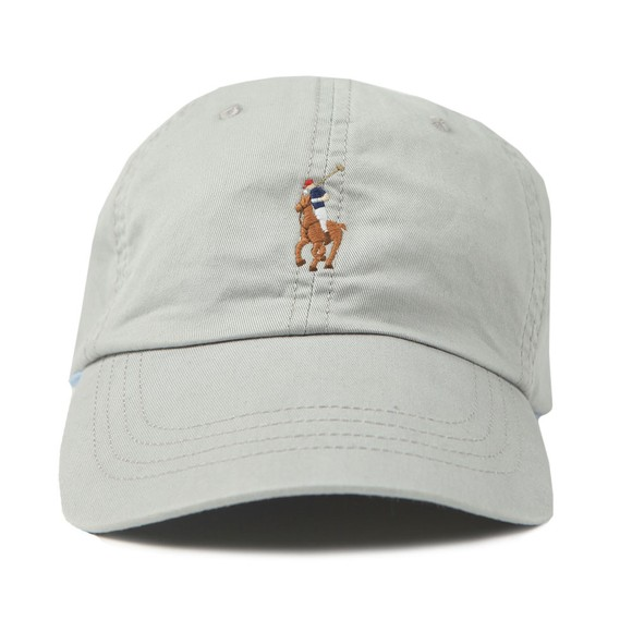 Polo Ralph Lauren Mens Grey Ralph Lauren Classic Sport Cap