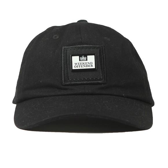 Weekend Offender Mens Black Clay Cap