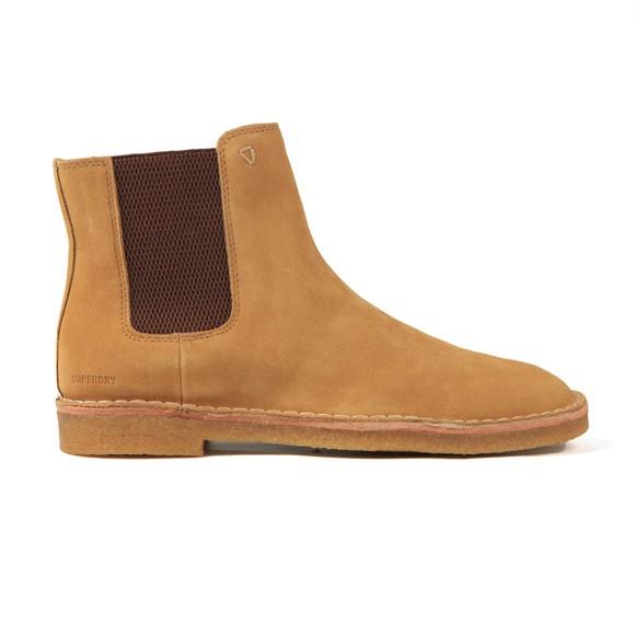 Superdry Mens Beige Desert Chelsea Boot