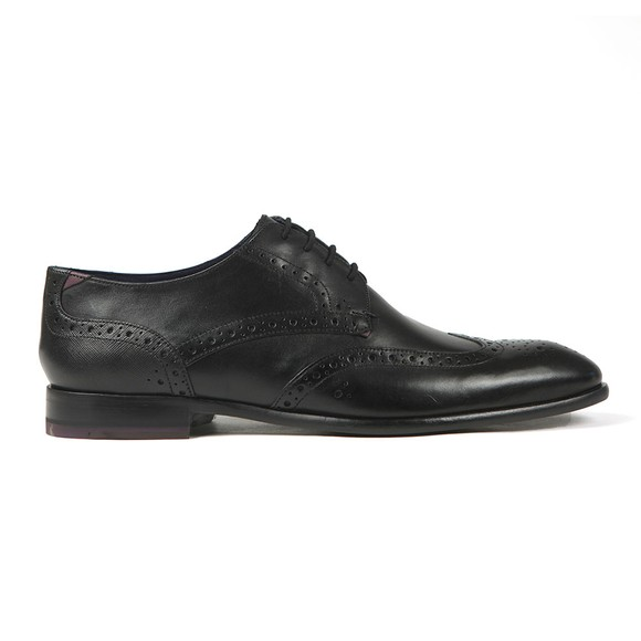 Ted Baker Mens Black Trvss Brogue Shoe