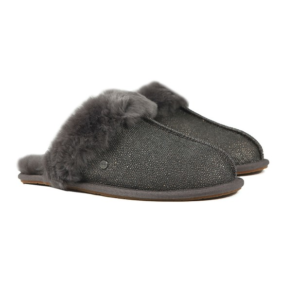 Ugg Womens Grey Scuffette II Caviar Slipper