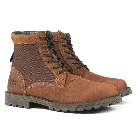 Barbour Lifestyle Mens Brown Cheviot Derby Boot main image