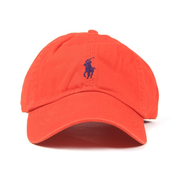 Polo Ralph Lauren Mens Orange Classic Sport Cap