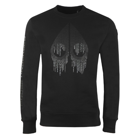 Moose Knuckles Mens Black Denison Sweatshirt