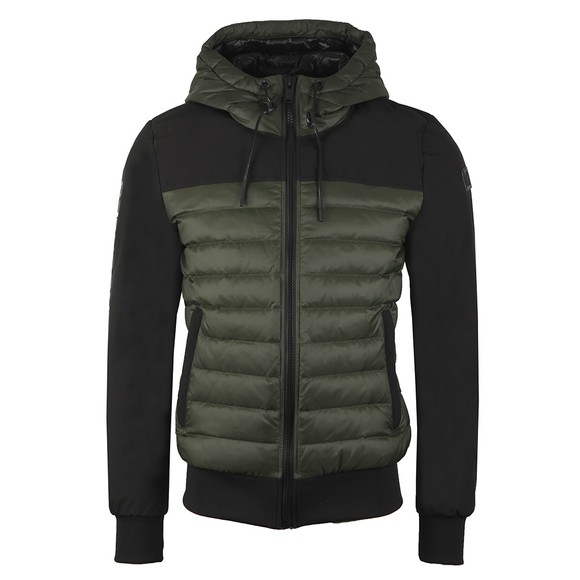 Moose Knuckles Mens Green Moutray Lightweight Jacket