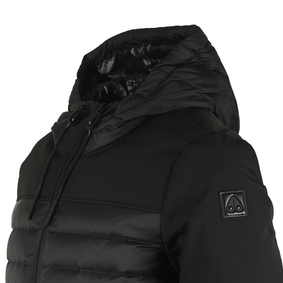 Moose Knuckles Mens Black Moutray Lightweight Jacket