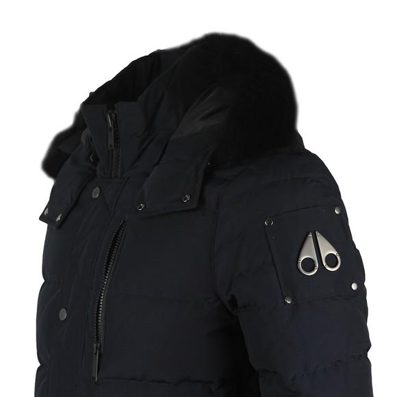Moose Knuckles Mens Blue Bellwoods Jacket