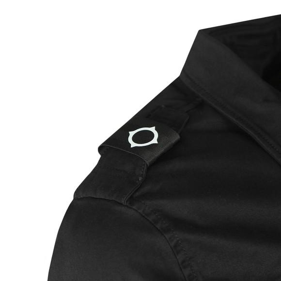 Ma.Strum Mens Black Two Pocket Shirt