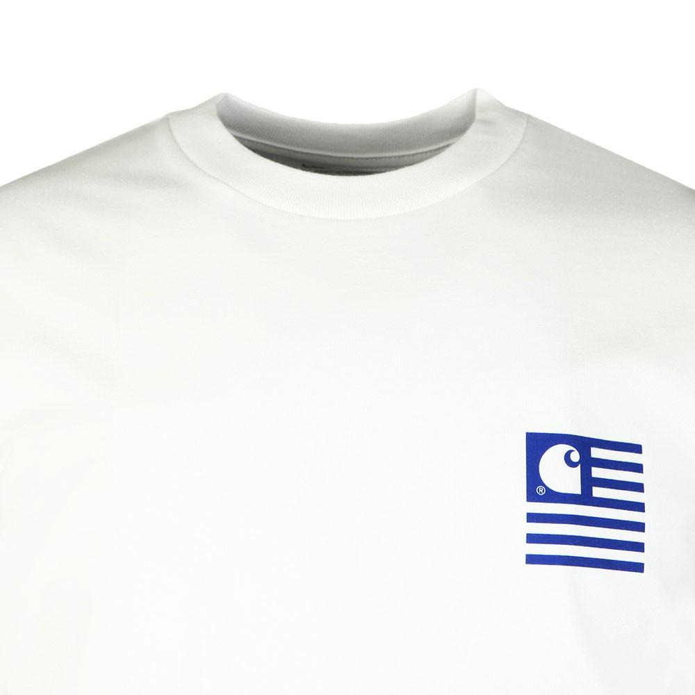 Waving State Flag T-Shirt main image