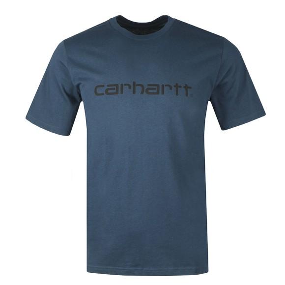 Carhartt WIP Mens Blue Script T-Shirt