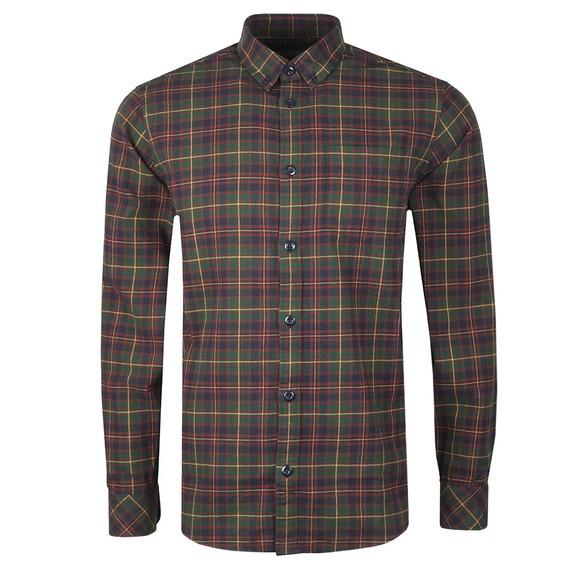 Carhartt WIP Mens Green Huffman Shirt
