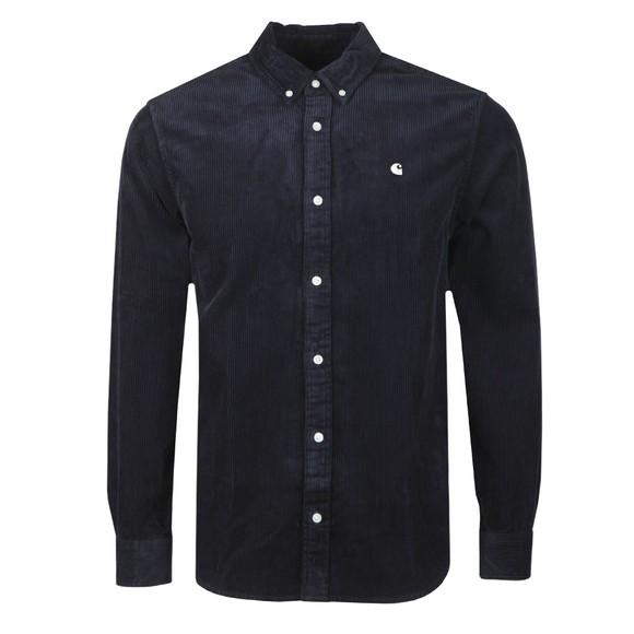 Carhartt WIP Mens Blue Madison Cord Shirt
