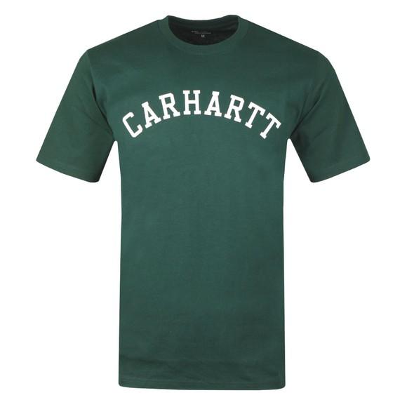 Carhartt WIP Mens Green University T-Shirt