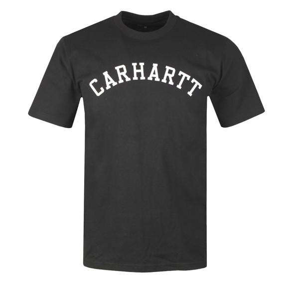 Carhartt WIP Mens Black University T-Shirt main image