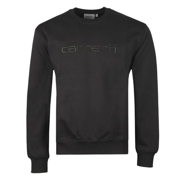 Carhartt WIP Mens Black Sweatshirt