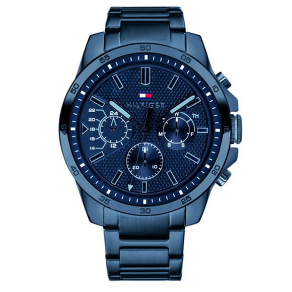 Tommy Hilfiger Mens Blue Deckers Watch main image