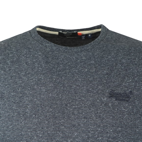 Superdry Mens Blue OL Vintage Emb LS Top