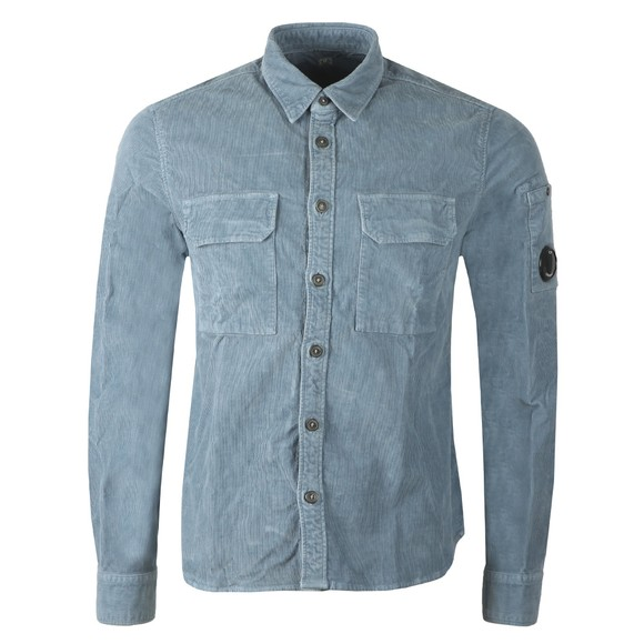 C.P. Company Mens Blue Cord Shirt