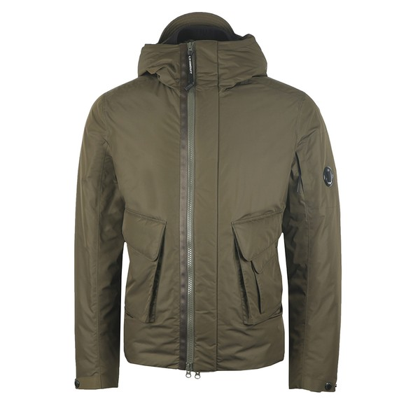 C.P. Company Mens Green Micro M Down Jacket