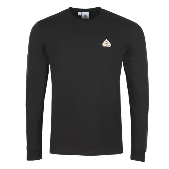 Pyrenex Mens Black Bario Long Sleeve T-Shirt