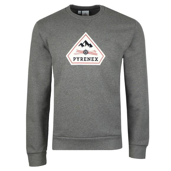 Pyrenex Mens Grey Charles Sweatshirt