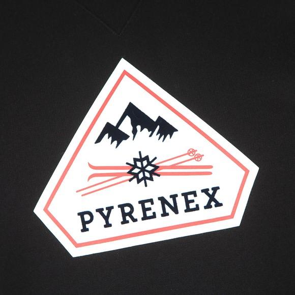 Pyrenex Mens Black Charles Sweatshirt