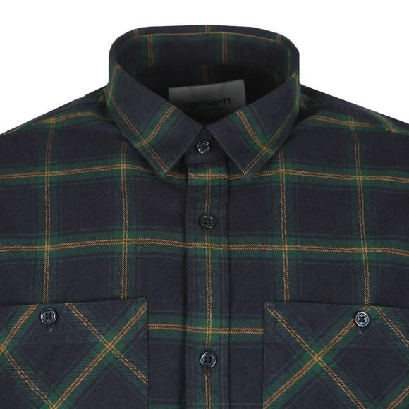 Carhartt WIP Mens Green Darren Shirt