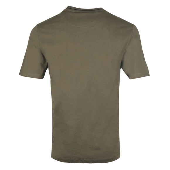 Lyle and Scott Mens Green Tipped T-Shirt main image