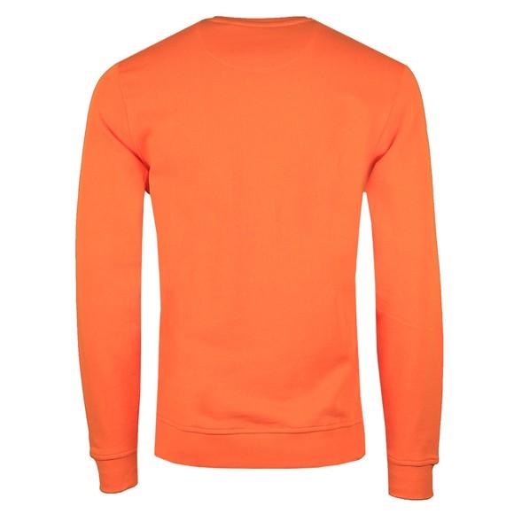 Lyle and Scott Mens Orange Crew Neck Sweatshirt main image