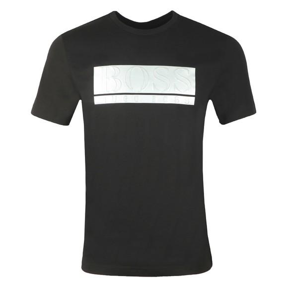 BOSS Mens Black Athleisure Teeonic T-Shirt