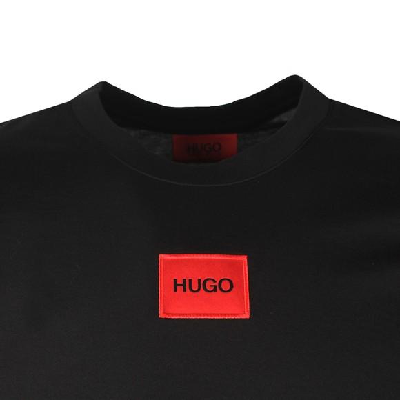 HUGO Mens Black Diragolino T-Shirt