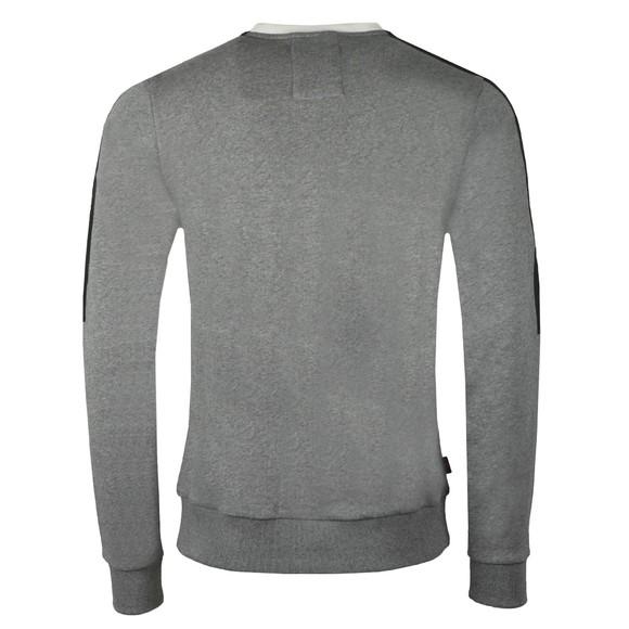 Luke Sport Mens Grey Badsey Sport Tape Sweatshirt main image