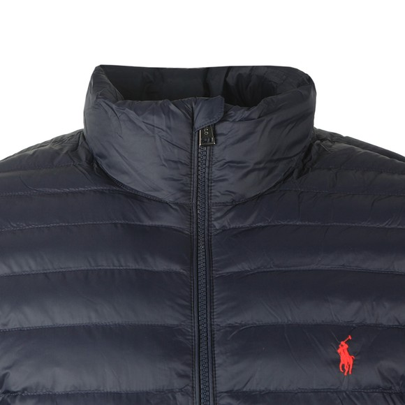 Polo Ralph Lauren Mens Blue Lightweight Quilted Jacket