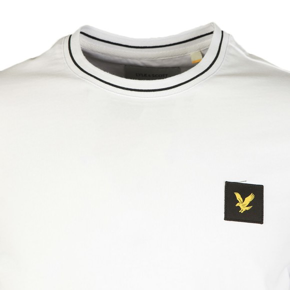 Lyle and Scott Mens White Tipped T-Shirt