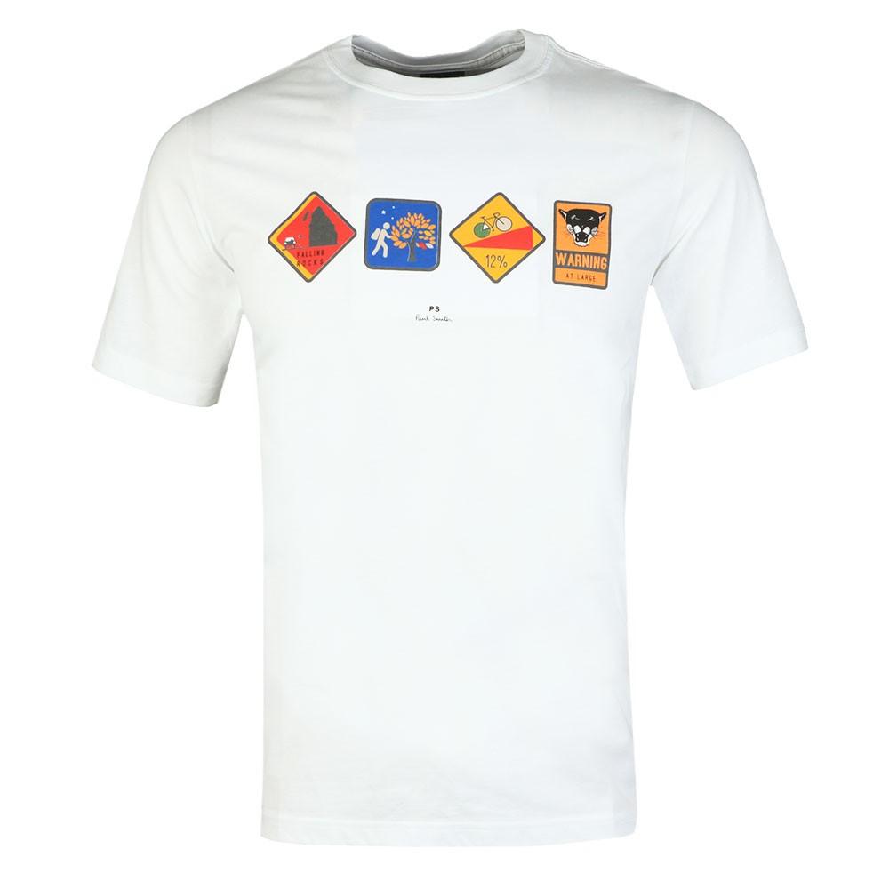 Reflective Warning T-Shirt main image