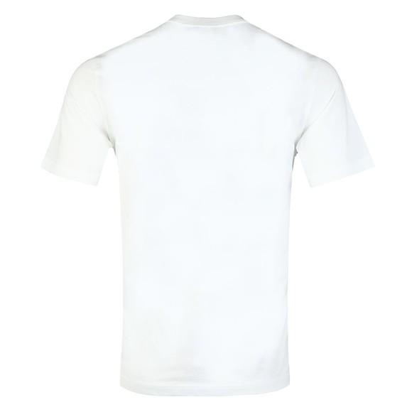 PS Paul Smith Mens White Reflective Warning T-Shirt main image