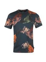 Mountains Print T-Shirt