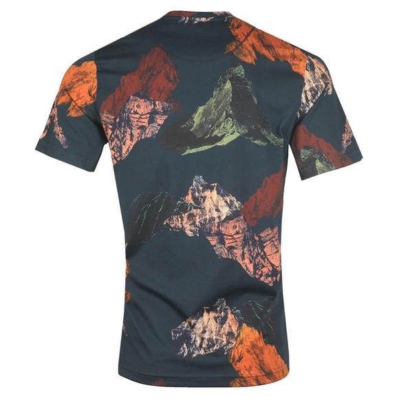 PS Paul Smith Mens Blue Mountains Print T-Shirt main image