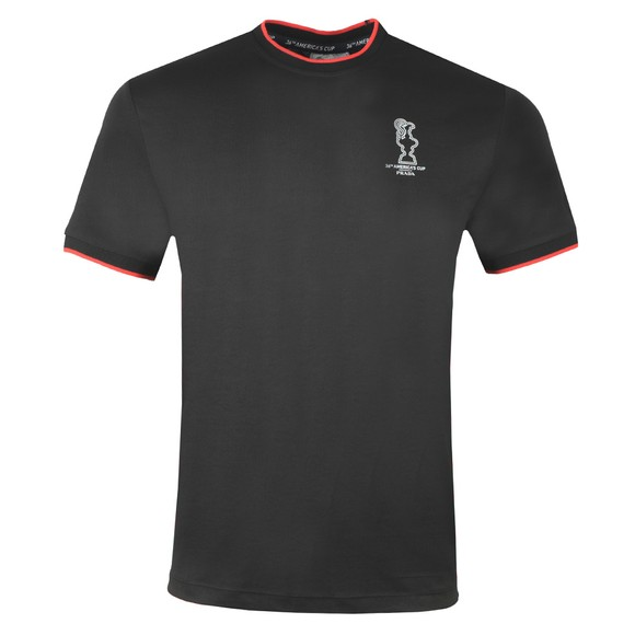 North Sails 36th Americas Cup presented by PRADA Mens Black Winton T-Shirt