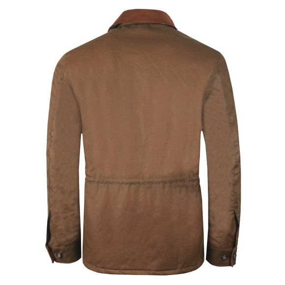 Barbour Lifestyle Mens Brown Teddon Wax Jacket main image
