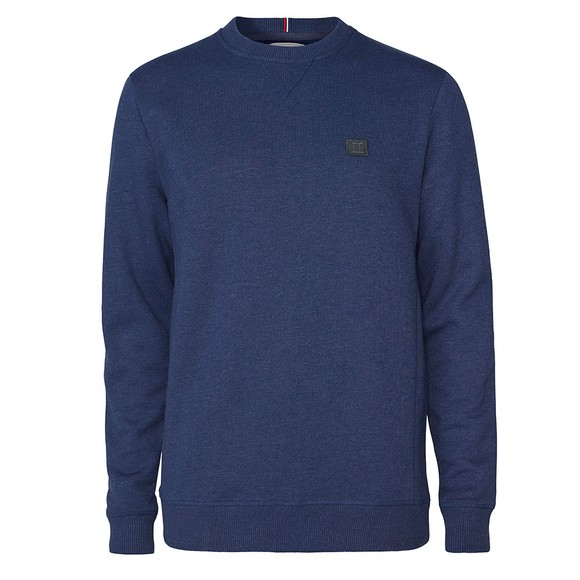 Les Deux Mens Blue Piece Sweatshirt main image