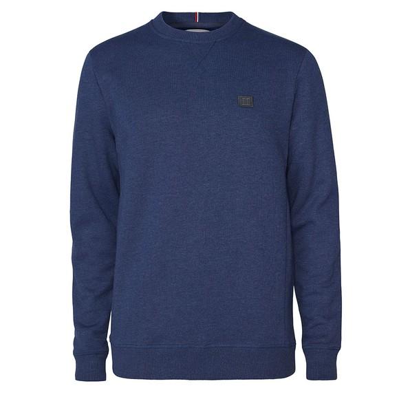 Les Deux Mens Blue Piece Sweatshirt