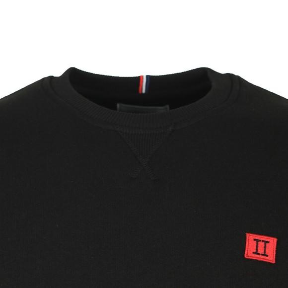 Les Deux Mens Black Piece Sweatshirt